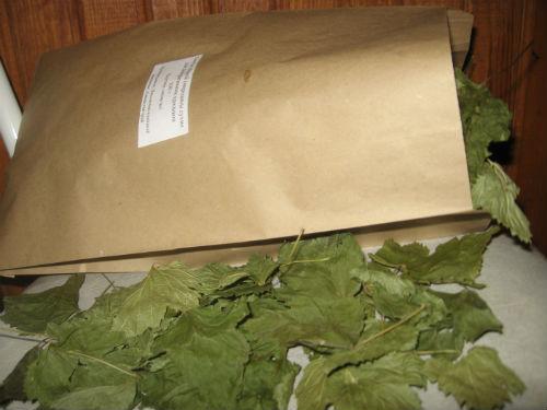 Листья смородины сушёные, 50 г